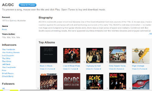 AC/DC Music Collection Now Available on iTunes