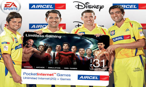Aircel Pocket Internet Games Recharge Cards Launched at Rs 43 and Rs 69
