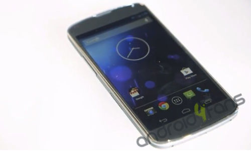 Nexus 4: Latest Image Leak suggests White Variant of the Google Smartphone Coming Soon