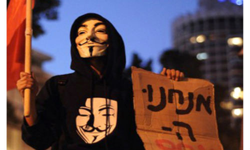 Anonymous Hacks Hundreds of Israeli Sites, Unleashes Lethal Digital Attack in Response to Gaza Bombing