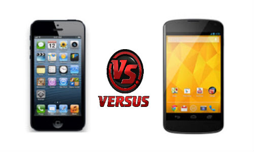 Apple iPhone 5 vs LG Nexus 4: The Big Phones Fight for Supremacy