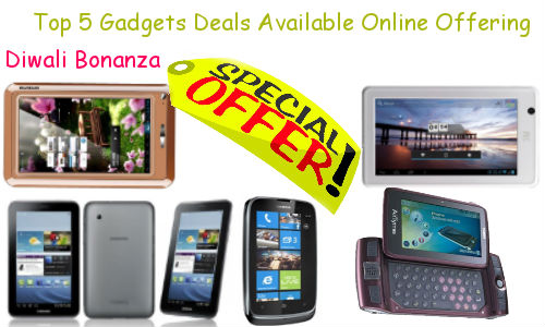 Diwali Bonanza: A Look at Top 5 Gadgets Deals Available Online Offering Special Gifts