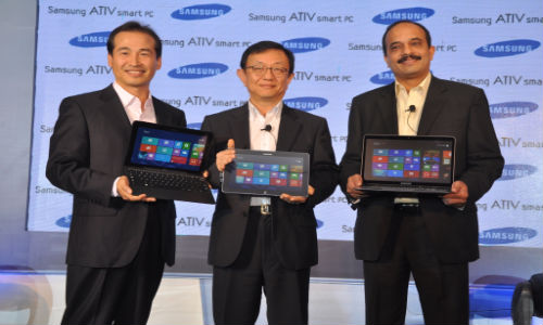 Samsung Ativ Smart PC, Smart PC Pro Windows 8 Tablets with Intel Processors Launched in India at Rs 53,990 and Rs 75,490