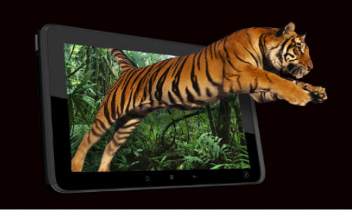 NEO3DO: Glasses Free 3D Tablets to be Released in 2013