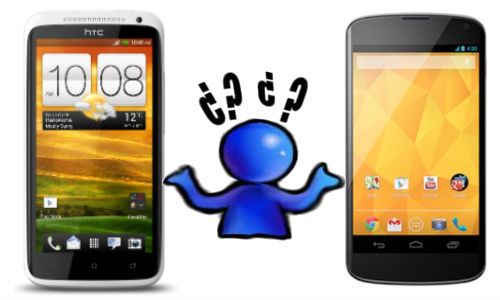 HTC One X vs LG Nexus 4: Which Android Jelly Bean Smartphone Offering Will You Prefer?