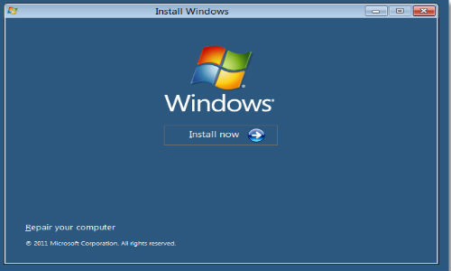 Image result for how to install Windows Operating System