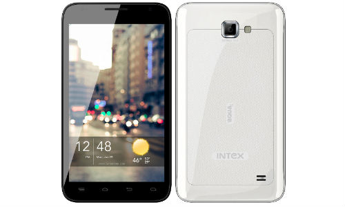 Intex Aqua 5.0: Micromax A110 Canvas 2 Phablet Competitor Launched at Rs 9,999