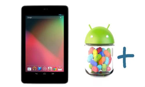 Google Nexus 7 Receives Android 4.2 Jelly Bean OTA Update