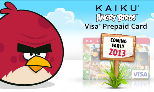 Angry Birds Visa Debit Cards: Rovio ties up with Kaiku Finance to Enter Prepaid Market