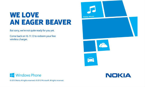 Nokia Lumia 920, 820: Free Wireless Charger Offer Scheme Starts November 16