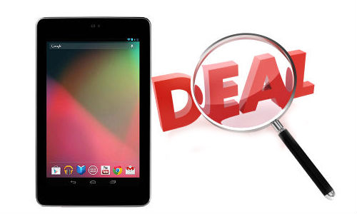Nexus 7 India Release: Best Online Deals Available to Buy the Google Android Jelly Bean Tablet Now