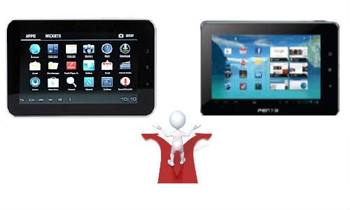 Aakash 2 UbiSlate 7Ci vs Pantel Penta T-Pad WS703C: Snatch Fight between Indian Government and BSNL over Nation's Tablet Crown