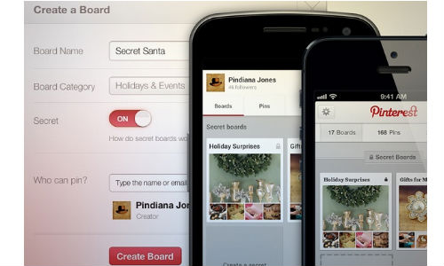 Pinterest Rolling Out Secret Boards to Let You Pin in Private