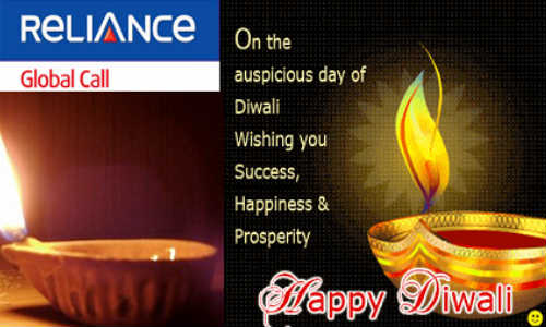 Reliance Global Call Offers Lowest Ever Unlimited Calling to India this Diwali