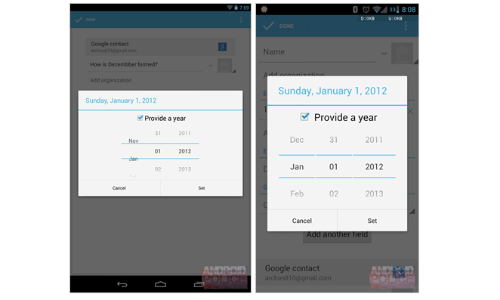 Android 4.2 Jelly Bean People App: Google Forgets Children of December