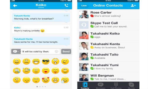 Skype for iPhone, iPad and iPod Touch Gets Updated with Microsoft Account Login, Animated Icons and More