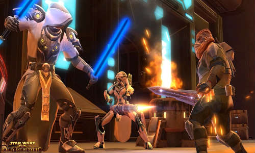 Star Wars: The Old Republic Launches Free-to-Play Option