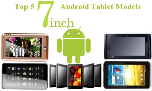 Top 5 Budget Tablets in 7 Inch Category Available in India Right Now