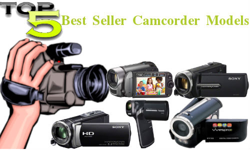 Top 5 Best Selling Camcorder Models Starting Rs 2,400