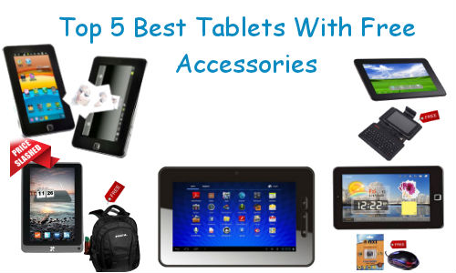Top 5 Android Tablets Available Online with Free Accessories Below Rs 8,000