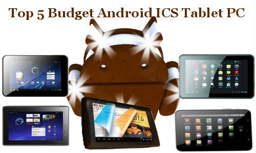 Top 5 Budget Android ICS Tablets Below Rs 6,000: Best Online Deals