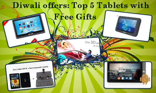 Diwali Special Deals: Top 5 Tablets Available Online with Free Gift Offers