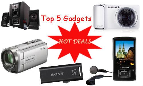 Weekend Guide: Top 5 Best Online Deals on Gadgets this Week