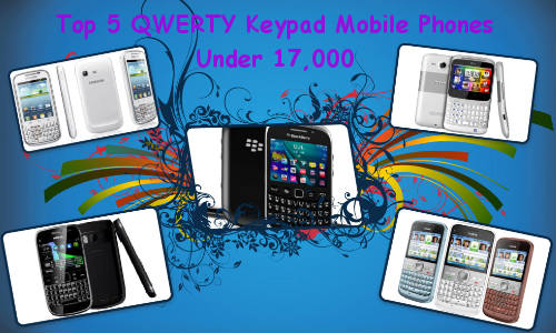 Top 5 Latest QWERTY Keypad Mobile Phones, Starting Price Rs 8,207