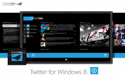 Twitter Trouble: New API Rule Flaps Down Windows 8 'Metro-Style' Tweetro App
