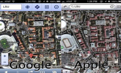 Google Maps App for Apple iOS Devices Unlikely to Get Approved
