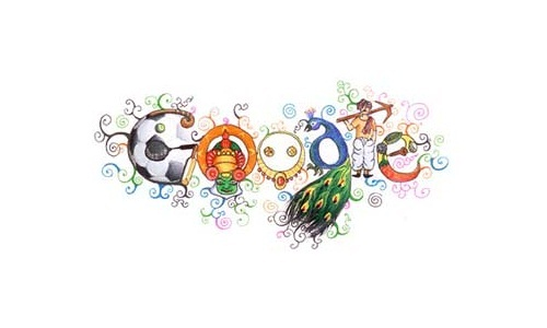 Google Celebrates Children's Day with Doodle 4 Google Winner on India Hompage