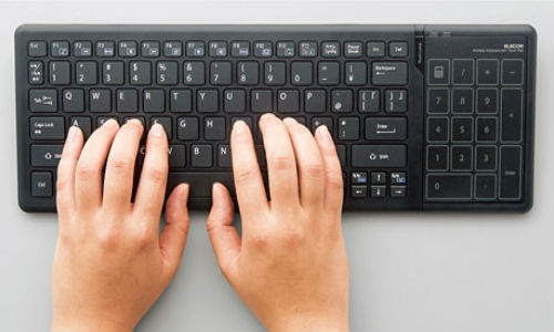 Elecon introduces Wireless Keyboards with Support for Windows 8 Touch Gestures