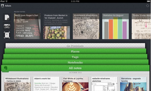 Evernote 5.0 for iOS Announced With Improved UI and New Features