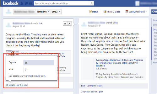 Facebook Examining New Analytics to Show Users the Reach of Page Updates