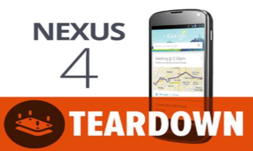 LG Nexus 4 iFixit Teardown: Google Smartphone Scores Same as Apple iPhone 5