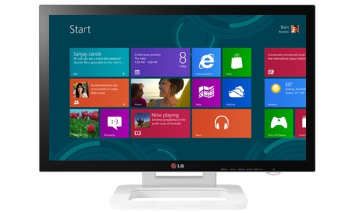 LG Announces 23 Inch Touch 10 Monitor Optimized for Windows 8