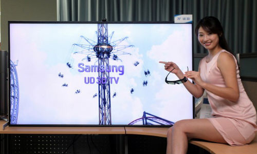 Samsung Prepping to Launch 85-inch Ultra HDTV at CES 2013