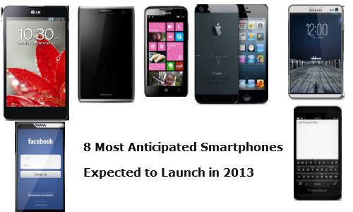 8 Most Anticipated Smartphones Expected to Launch in 2013