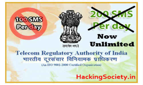 TRAI Restricts Cheaper SMSes at 100 a Day