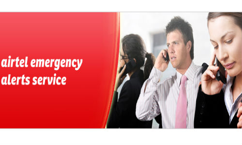 Airtel Alert Service Launched For Subscribers to SMS Location Details in Emergency