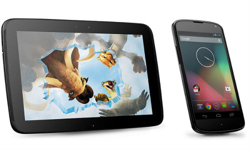 Nexus 4 and Nexus 10 India Release: Android 4.2 Devices Priced at Rs 34,500 and Rs 32,850 Online