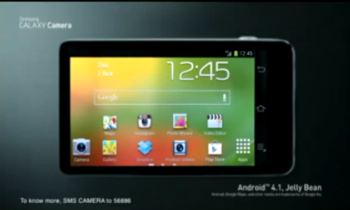 Galaxy Camera: Did You See the TV Ad of Samsung's Android Camera? [VIDEO]