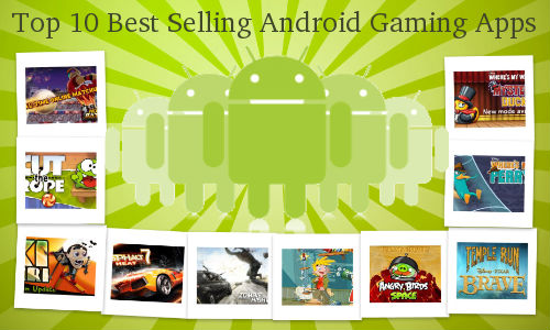 Top 10 Best Selling Android Gaming Apps Below Rs 55 on Google Play