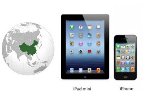 iPad mini and iPhone 5 Arrive in China in December