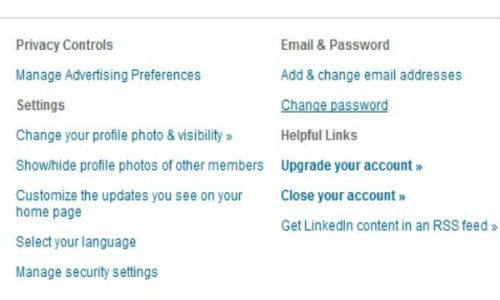 Gallery: How to change your LinkedIn password?