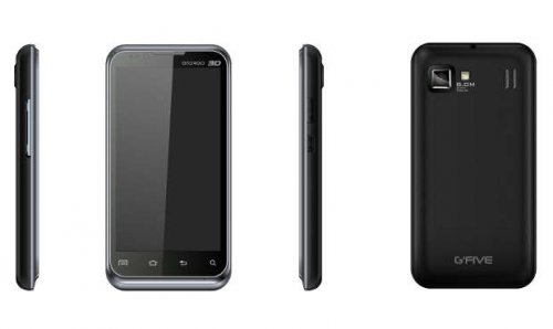 G'Five to launch 5 low cost Android phones