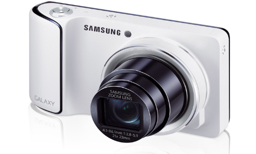 Samsung EK-GC100 Galaxy Camera: Android Jelly Bean Powered 'Smartphamera' with 21x optical zoom lens