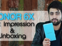 Honor 6X Unboxing and First Impressions
