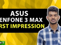 Asus Zenfone 3 Max First Impression