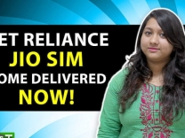 Get Reliance Jio SIM Home Delivered Now!